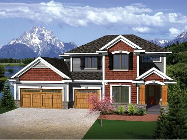 Family House Plan, 020H-261