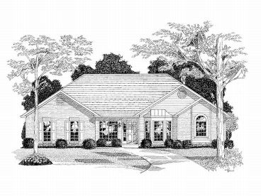 1-Story House Plan, 007H-0056