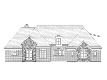 European House Plan, 062H-0016