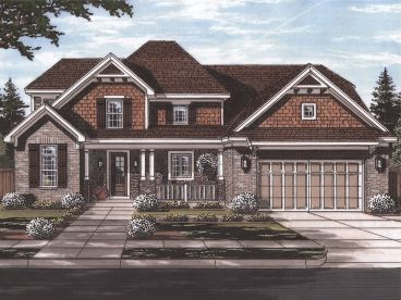 Two-Story House Plan, 046H-0152