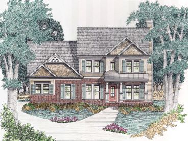 Two-Story Home Plan, 045H-0014