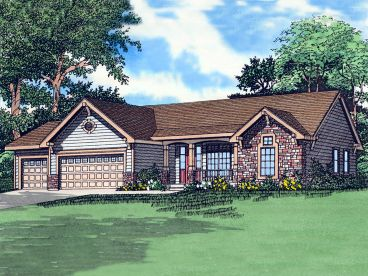 Traditional House Plan, 009H-0061
