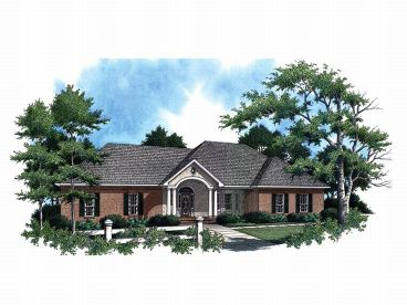 1-Story House Plan, 001H-0070