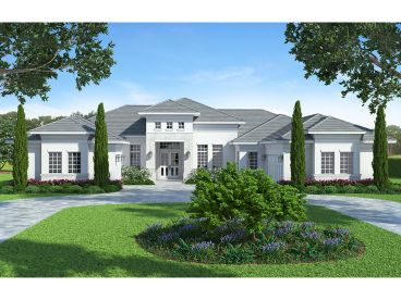 Sunbelt Home Plan, 069H-0018