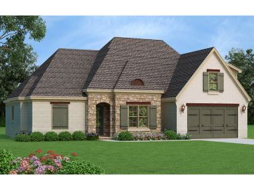 European House Plan, 062H-0085