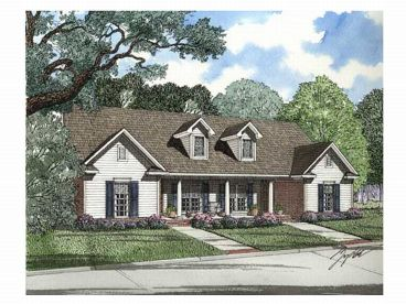 Duplex Home Plan, 025M-0013