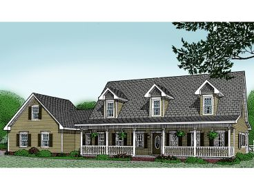 Country House Plan, 044H-0010