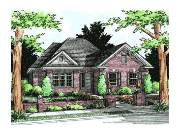 One-Story Home Plan, 059H-0047