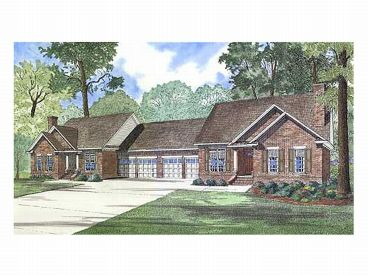 Duplex Home Plan, 025M-0003