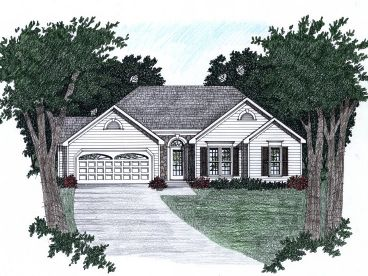 Small Ranch House Plan, 045H-0036