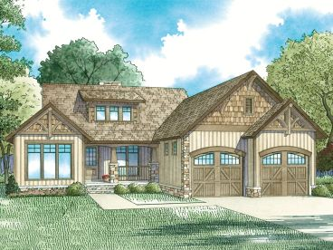 Small European House Plan, 025H-0343