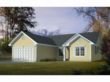 Small Home Plan, 026H-0016