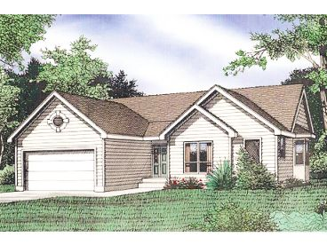 Traditional Home Plan, 009H-0041