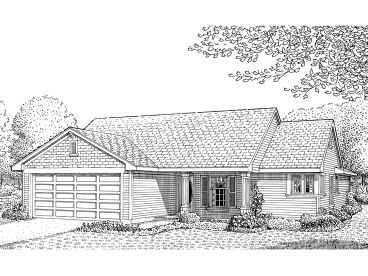 Affordable House Plan, 054H-0003