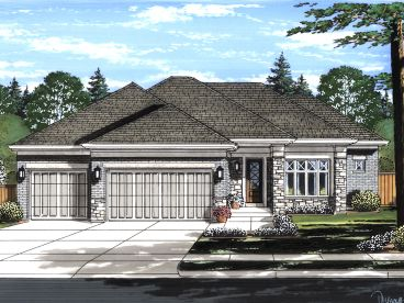 Ranch House Plan, 046H-0153