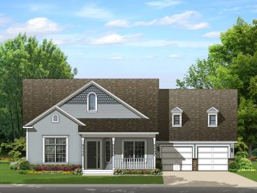 Country House Plan, 064H-0099