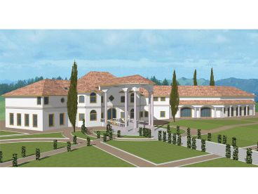 Mansion House Plan, 012H-0080