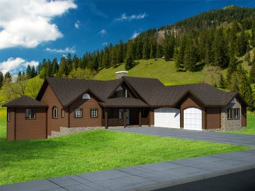Mountain Home Plan, 012H-0082