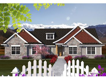 European House Plan, 020H-0348