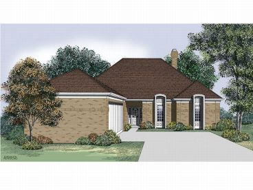 Ranch House Plan, 021H-0113