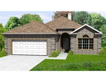 Affordable Home Plan, 048H-0034