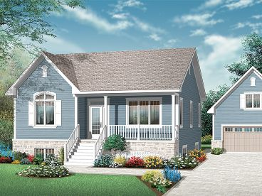 Country House Plan, 027H-0241