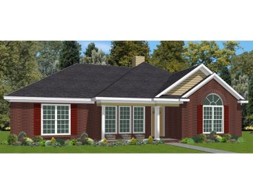 Small House Plan, 073H-0054