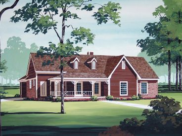 Country Home Plan, 021H-0210