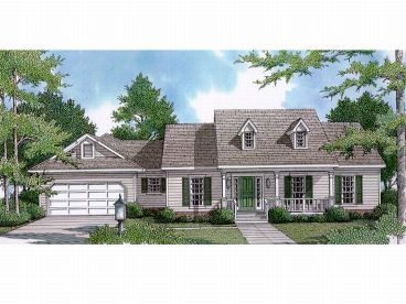 Country Home Plan, 004H-0058