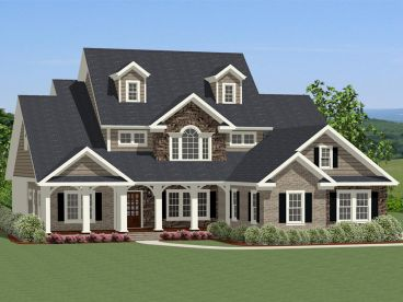 2-Story House Plan, 067H-0042
