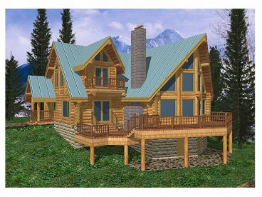 Unique Log Home, 012L-0002
