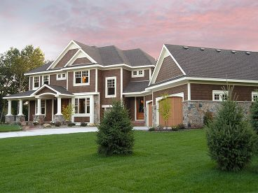 Luxury Craftsman Home, 023H-0131