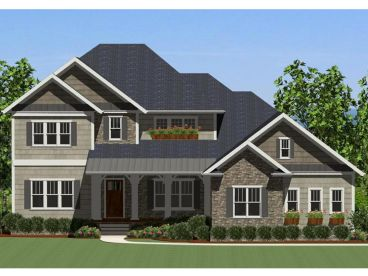 Two-Story Home Plan, 067H-0025