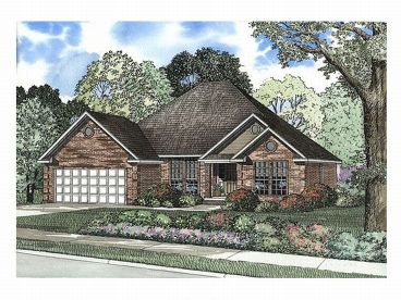 Traditional Home Plan, 025H-0115