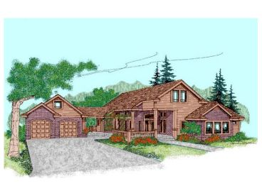 Ranch House Plan, 013H-0026