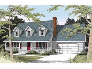Country House Plan, 026H-0080