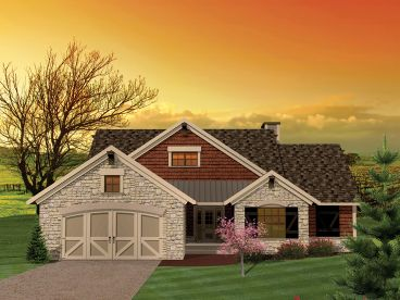 European House Plan, 020H-0274