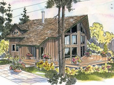 Contemporary House Plans   The House Plan ShopPlan H