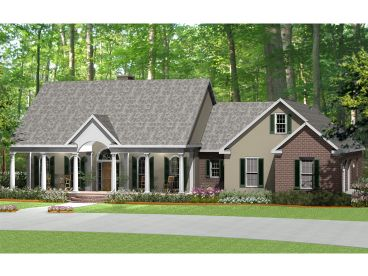 European House Design, 042H-0014