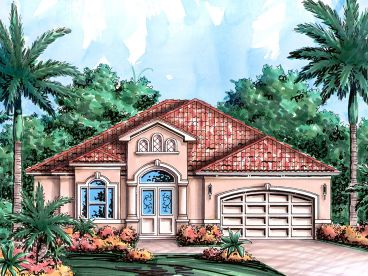 Sunbelt House Plan, 037H-0174