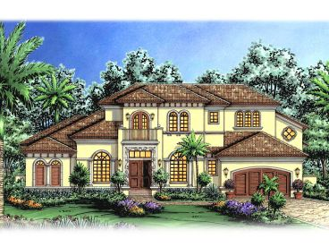 Premier Luxury Home Plan, 040H-0033