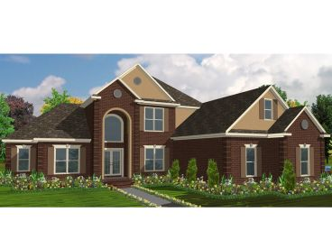 Two-Story Home Design, 073H-0067