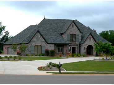 European House Plan, 044H-0053