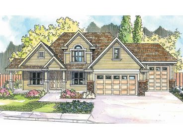 Traditional House Plan, 051H-0139