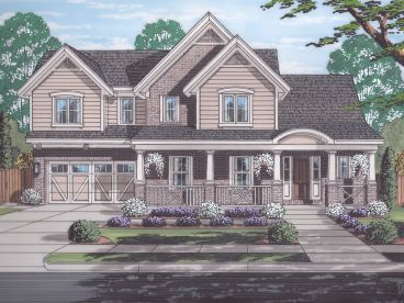 Country Home Plan, 046H-0133