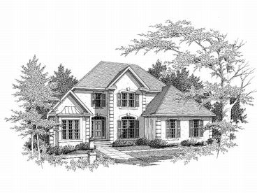 Sunbelt Home Plan, 019H-0096