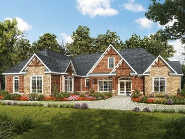 Craftsman Home Design, 019H-0164