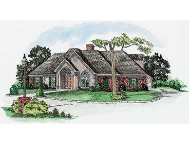 1-Story House Design, 060H-0026