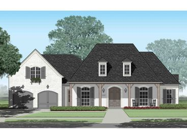 European House Plan, 079H-0032