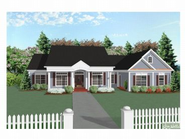 Ranch House Plan, 007H-0060
